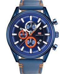 reloj análogo f0083g-4 hombre azul
