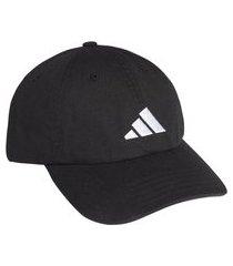 boné dad adidas athletics pack logo preto