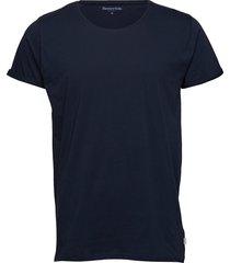 jimmy solid t-shirts short-sleeved blå resteröds