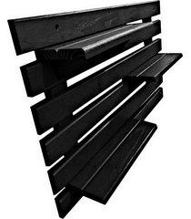 floreira vertical madeira alce couch vaso parede preto
