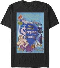 fifth sun men's sleeping beauty poster short sleeve crew t-shirt