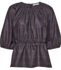 benito blouse blus långärmad brun lovechild 1979