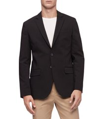 calvin klein move 365 stretch 2-button blazer
