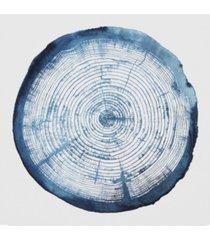 """grace popp tree ring overlay i canvas art - 15"""" x 20"""""""