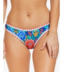 frida floral bikini bottom