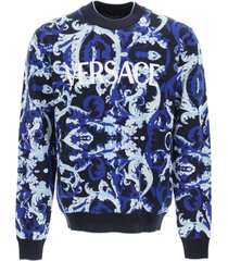 versace barocco flage pullover