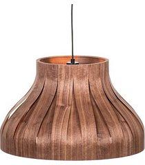 estel - lampa wisząca z naturalnego forniru