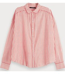 scotch & soda blouse van een katoenmix met print