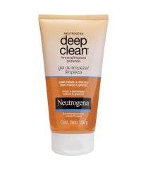 gel de limpeza profunda neutrogena deep clean 150g