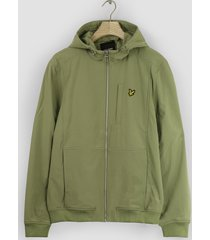 lyle and scott jk1424v lyle en scott softshell jacket, w321 moss