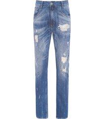 calça masculina skinny guabun - azul