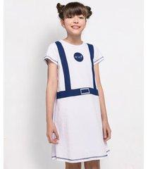 camisola manga curta acuo camisola manga curta azul - azul - menina - dafiti