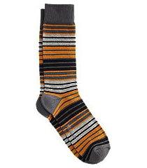jos. a. bank stripe mid-calf socks, 1-pair clearance