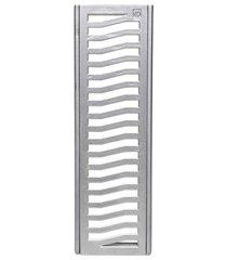 conjunto grelha e porta grelha em alumínio elegance 20x100cm alumínio
