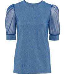 maglia con lurex (blu) - bodyflirt