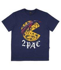 camiseta alkary 2 pac marinho