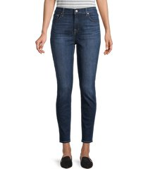 7 for all mankind women's gwenevere high-rise ankle skinny jeans - paris - size 23 (00)