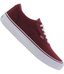 3e3a3b9bb5a tênis vans doheny - feminino - vermelho
