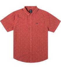 men's that'll do dobby short sleeve woven shirt