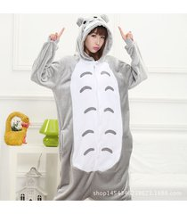 xmas adult animal unisex dress totoro hoodie kigurumi fancy costume pajamas new