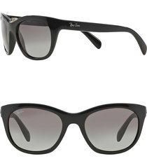 ray-ban 'highstreet' 56mm sunglasses in black at nordstrom