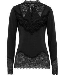 maglia con pizzo (nero) - bodyflirt boutique