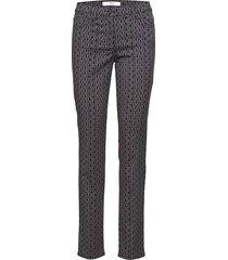 shakira pantalon met rechte pijpen grijs brax