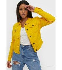 noisy may nmdebra l/s colour denim jacket x jeansjackor