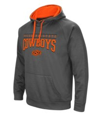 colosseum oklahoma state cowboys men's poly performance hooded sweatshirt