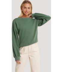 afj x na-kd sweatshirt - green