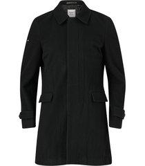 rock edit wool car coat