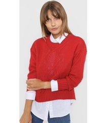 sweater rojo laila paola