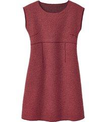 walkstof jurk met korte mouwen, papaja 46