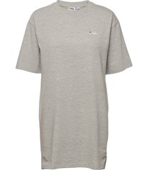 women elle tee dress dresses t-shirt dresses grå fila