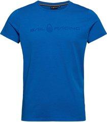 bowman tee t-shirts short-sleeved blå sail racing