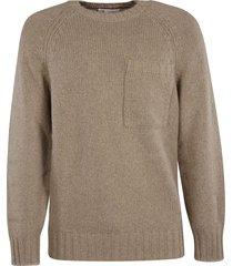 brunello cucinelli chest pocket knit sweater