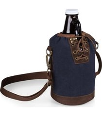 legacy by picnic time insulated growler tote with 64-oz. glass growler