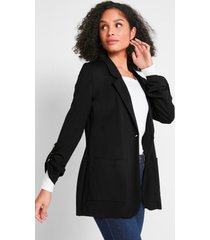 lange sweatblazer van maite kelly