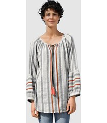 blouse dress in wit