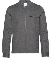 superflex knitted overshirt overshirts grijs lindbergh