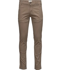 mens stretch chino chinos byxor grå shine original