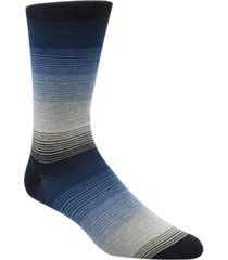 cole haan men's gradient-stripe socks