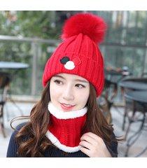 sciarpe da donna con cappuccio scaldamuscoli e berretto con collo scaldamuscoli da donna con cappello flessibile in pelliccia