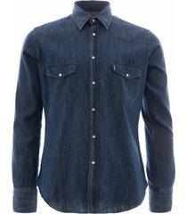 c17 - cedixsept jeans antonie western shirt | denim | c17wst-1