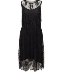 dress kort klänning svart rosemunde