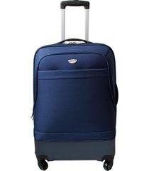 "maleta de viaje grande hibrido 28"" azul - explora"