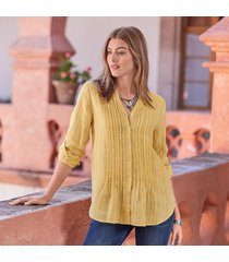 warm breeze tunic petite-stripe