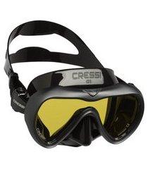máscara de mergulho cressi a1 anti fog - preto