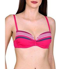 bikini lisca dominica multipositie voorgevormde badpak top
