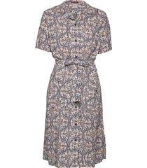 printed shirtdress dresses shirt dresses multi/mönstrad superdry